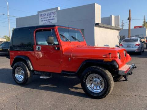 1994 Jeep Wrangler for sale at Brown & Brown Wholesale in Mesa AZ
