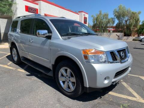 2012 Nissan Armada for sale at Brown & Brown Wholesale in Mesa AZ