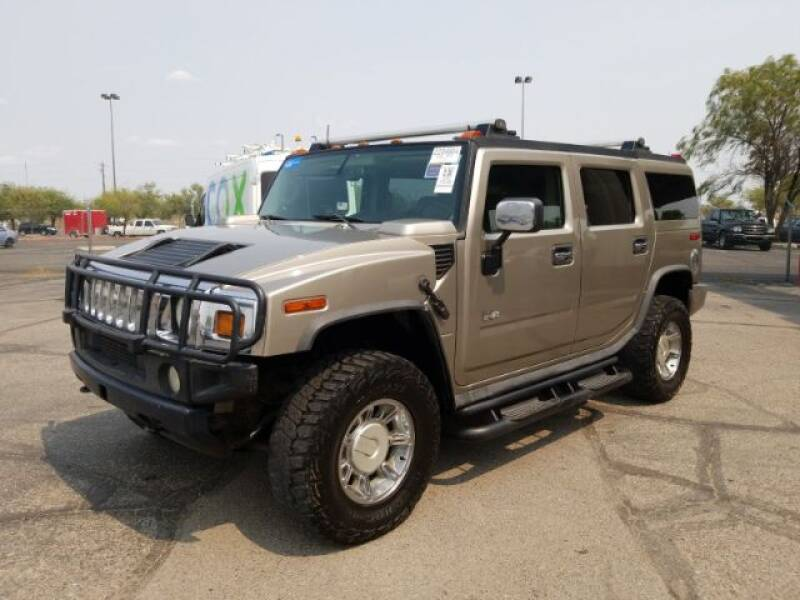 2003 HUMMER H2 for sale at Brown & Brown Wholesale in Mesa AZ