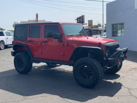 2014 Jeep Wrangler Unlimited for sale at Brown & Brown Wholesale in Mesa AZ