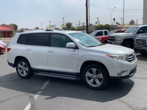 2012 Toyota Highlander for sale at Brown & Brown Wholesale in Mesa AZ