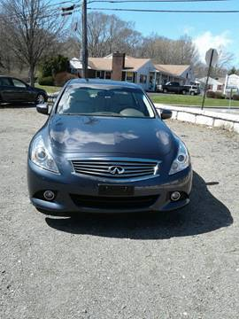 2010 Infiniti G37 Sedan for sale in Taunton MA