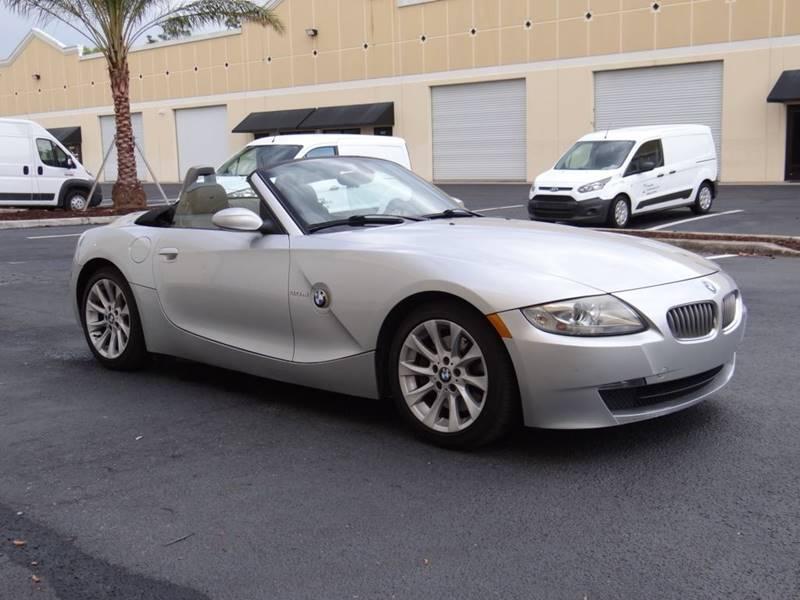 2006 bmw z4 3 0si 2dr convertible in fort myers fl navigli usa inc rh navigliusainc com Used 2006 BMW Z4 3.0Si 2006 Z4 Roadster