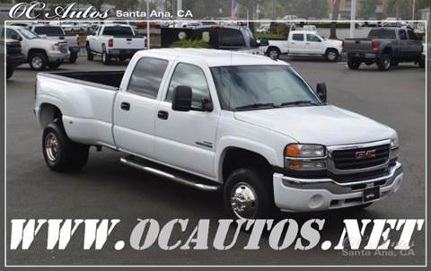 2006 GMC Sierra 3500 for sale in Santa Ana, CA