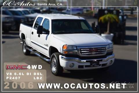 2006 GMC Sierra 2500HD for sale in Santa Ana, CA