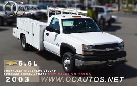 2003 Chevrolet Silverado 3500HD for sale in Santa Ana, CA