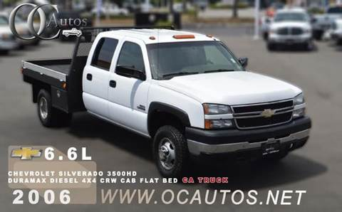 2006 Chevrolet Silverado 3500HD for sale in Santa Ana, CA