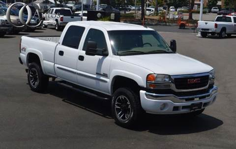 2006 gmc sierra 2500hd for sale in california. Black Bedroom Furniture Sets. Home Design Ideas