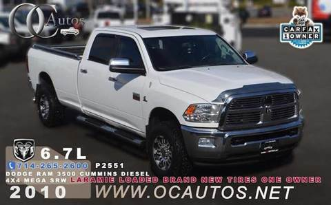 2010 Dodge Ram Pickup 3500 for sale in Santa Ana, CA