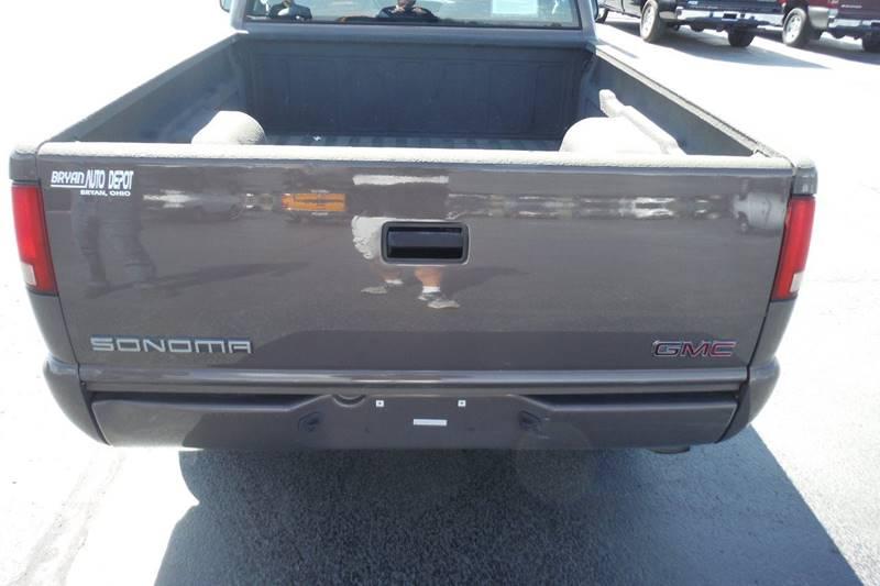 1998 GMC Sonoma 2dr SL Standard Cab SB - Bryan OH