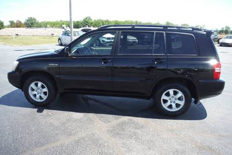 2003 Toyota Highlander for sale in Bryan, OH