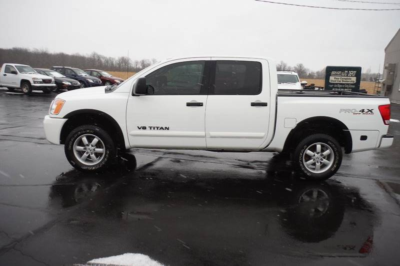 2011 nissan titan pro 4x in bryan oh bryan auto depot. Black Bedroom Furniture Sets. Home Design Ideas