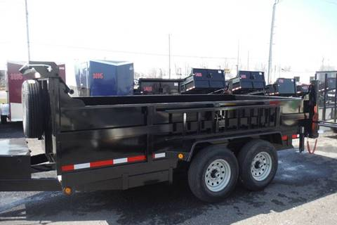 2019 Quality Steel 14 FT DUMP 14000 AXLES for sale in Bryan, OH