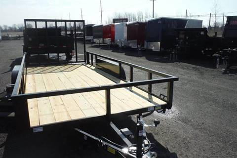 2019 Quality Steel 16 FT LANDSCAPE TANDEM AXLE for sale in Bryan, OH