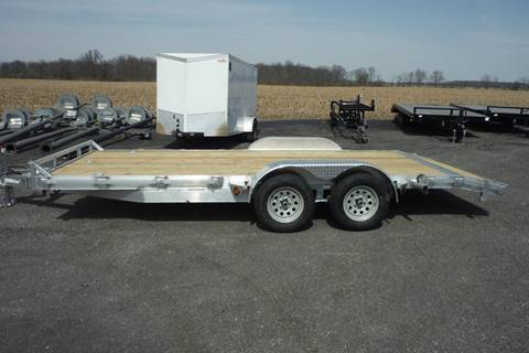 2019 Quality Steel 18 FT CAR HAULER  ALUMINUM for sale in Bryan, OH