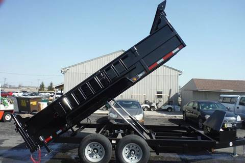 2019 Quality Steel 14 FT DUMP  14 K AXLES for sale in Bryan, OH