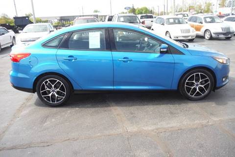 2017 Ford Focus for sale at Bryan Auto Depot in Bryan OH