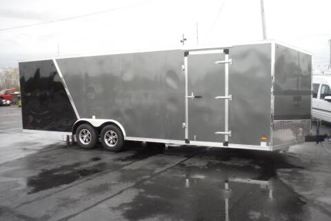 2021 US Cargo SLANT NOSE 24 FT CAR HAULER  for sale at Bryan Auto Depot in Bryan OH