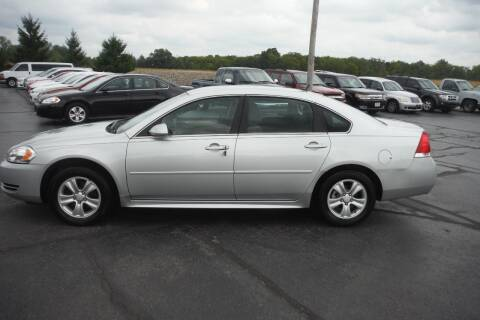 2012 Chevrolet Impala for sale at Bryan Auto Depot in Bryan OH