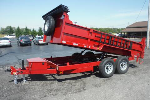 2021 Quality Steel HD DUMP 14 FT for sale at Bryan Auto Depot in Bryan OH