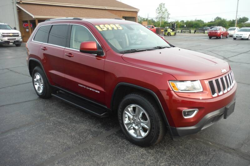 2014 Jeep Grand Cherokee for sale at Bryan Auto Depot in Bryan OH