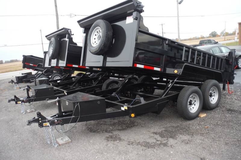 2021 Quality Steel 83X12 DUMP for sale at Bryan Auto Depot in Bryan OH