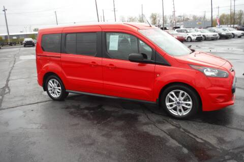 2014 Ford Transit Connect Wagon for sale at Bryan Auto Depot in Bryan OH