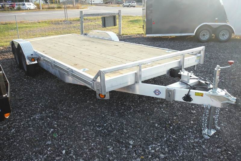 2016 Quality Steel 20 ft alumunim car hauler  - Bryan OH