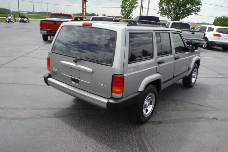 2001 Jeep Cherokee Sport 4WD 4dr SUV - Bryan OH