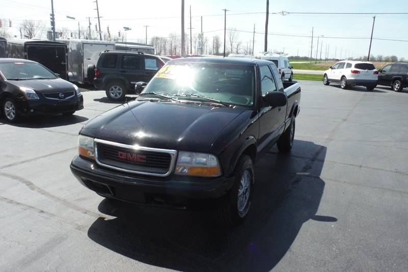 2002 GMC Sonoma 3dr Extended Cab SLS 4WD SB - Bryan OH