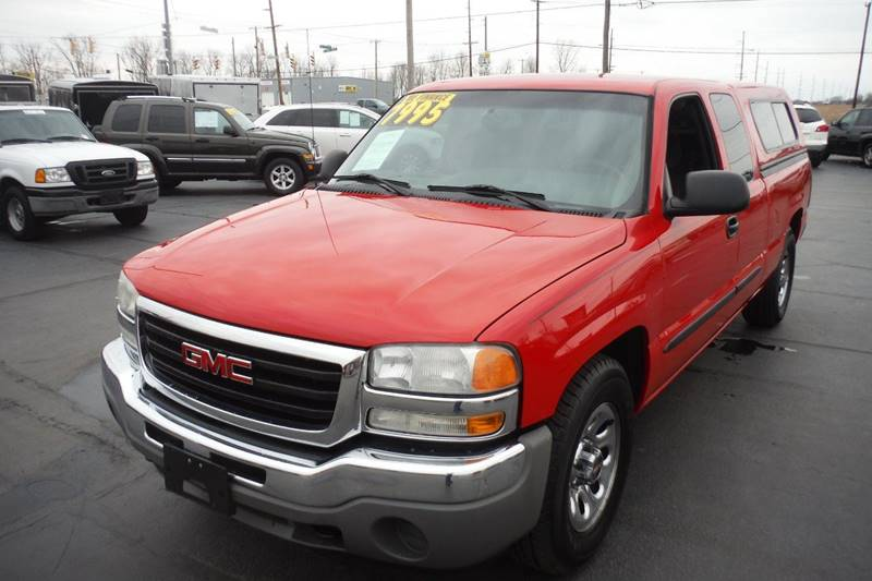 2007 GMC Sierra 1500 Classic Work Truck 4dr Extended Cab 6.5 ft. SB - Bryan OH
