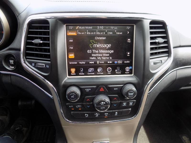 2014 Jeep Grand Cherokee 4x4 Summit 4dr SUV - Hudsonville MI