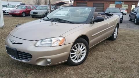 2002 Chrysler Sebring for sale at Cars 4 Grab in Winchester VA
