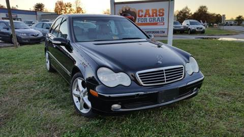 2004 Mercedes-Benz C-Class for sale at Cars 4 Grab in Winchester VA