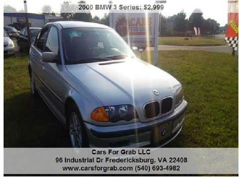 2000 BMW 3 Series for sale at Cars 4 Grab in Winchester VA