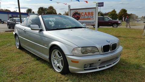 2002 BMW 3 Series for sale at Cars 4 Grab in Winchester VA