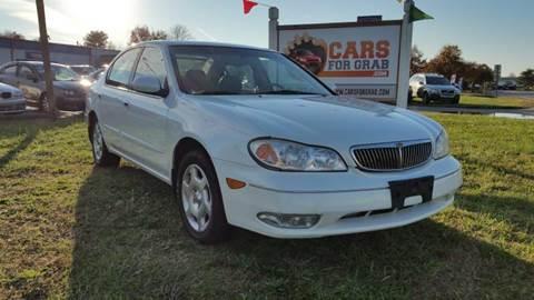 2001 Infiniti I30 for sale at Cars 4 Grab in Winchester VA