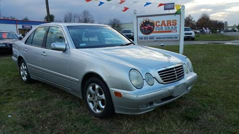 2002 Mercedes-Benz E-Class for sale at Cars 4 Grab in Winchester VA