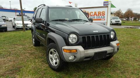 2004 Jeep Liberty for sale at Cars 4 Grab in Winchester VA