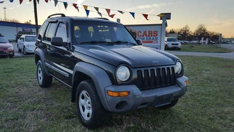 2002 Jeep Liberty for sale at Cars 4 Grab in Winchester VA