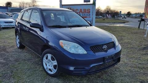 2004 Toyota Matrix for sale at Cars 4 Grab in Winchester VA