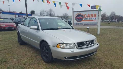 2001 Audi A4 for sale at Cars 4 Grab in Winchester VA