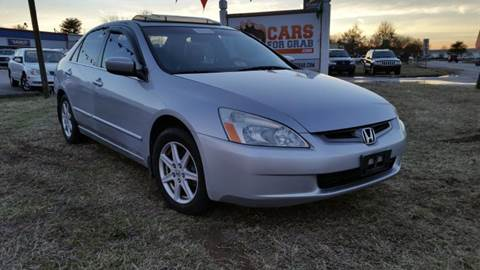 2003 Honda Accord for sale at Cars 4 Grab in Winchester VA