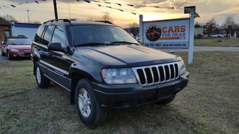 2003 Jeep Grand Cherokee for sale at Cars 4 Grab in Winchester VA