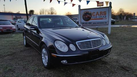 2003 Mercedes-Benz E-Class for sale at Cars 4 Grab in Winchester VA
