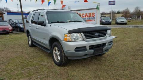 2002 Ford Explorer for sale at Cars 4 Grab in Winchester VA