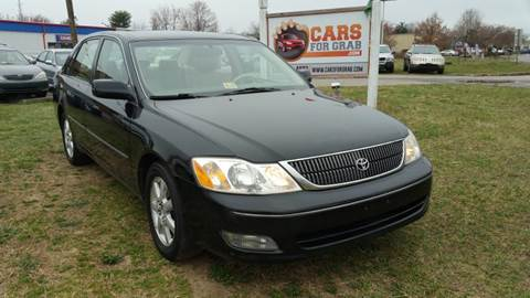 2001 Toyota Avalon for sale at Cars 4 Grab in Winchester VA