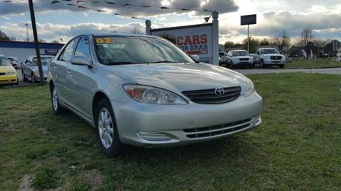 2002 Toyota Camry for sale at Cars 4 Grab in Winchester VA