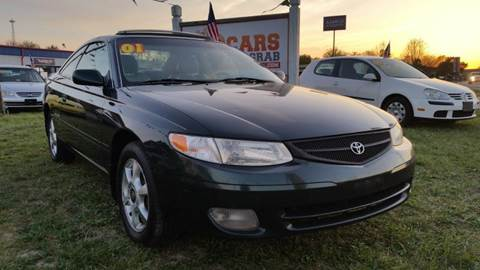 2001 Toyota Camry Solara for sale at Cars 4 Grab in Winchester VA