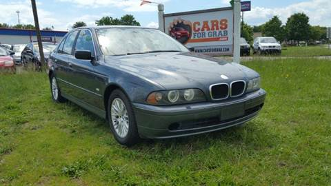 2001 BMW 5 Series for sale at Cars 4 Grab in Winchester VA